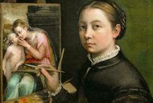 Sofonisba Anguissola / Sofonisba Anguissola (Cremona, 1532- Palermo, 1625) was een Italiaans schilder ten tijde van de Italiaanse renaissance. Als innovatieve portretkunstenaar was zij een van de eerste wereldberoemde vrouwelijke kunstschilders.