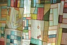 Pojagi-Bojagi Inspiration / Korean patchwork- modern traditional and inspired by
