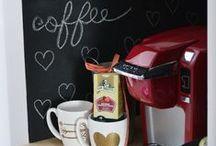 My coffee bar... / by Sandy Kennedy