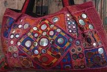 Boho bags / Bags of all kinds that suit the Boho style - bags from Rajasthan, Kerala, Gujarat, Delhi, Thailand, Bali, Sri Lanka, Java, Burma, Vietnam... for all those amongst us who are free spirits, artistic, flower children, mavericks, enfant terrible, wild, offbeat. Anyone sensible in other words.