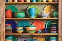 Fiestaware / We love the color and casual beauty of this American Classic dinnerware by Homer Laughlin China.  Now available at Greenhouse