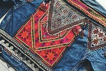 Embroidered Denim Jackets / Denim jackets that have been embroidered