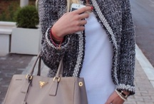 Outfits - grey, taupe & nude