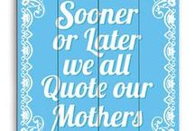 Words .. / Great sayings ...