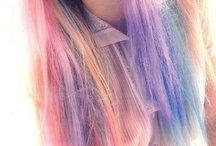 rainbow hair / by Petra Guglielmetti