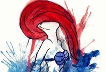 Little Mermaid Addiction! / by Ashley Zahn