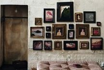 wall display / Wall display: focal wall inspiration.  / by yvonne martine