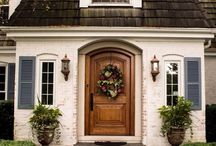 Front doors and gates