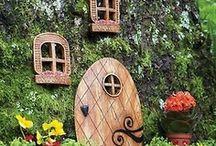 Gardens for the Fae / For the fairy garden