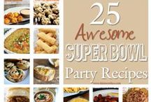 Game Day Eats / Recipes to please all your guests from kids to healthy eaters on game day. #football #SuperBowl