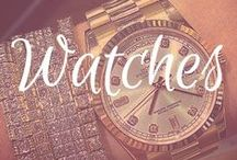 Watches / Watches I love - luxury watches from Rolex, Cartier, Patek Philippe, TAG Heuer, Breitling and more!