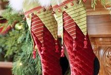 The Stockings were hung by the chimney with care / by Teresa Pinson
