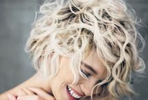 SHORT HAIR DON'T CARE. / Boho hairstyles for bobbed, pixie-cropped brides!