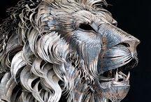 Art - Recycled / Art from recycled materials