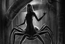 Fears - Arachnophobia (Dont look) / Fear of spiders It has legs ... more then two!