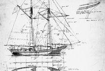 Inspirational - Tall ships / Wooden float