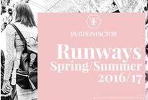 Runways Spring/Summer 2016 / For this upcoming spring/summer 2016 season the most important fashion weeks introduce color and magnificent details that you cannot miss.