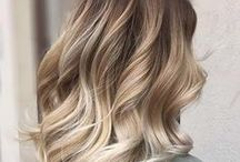 Balayage & Colormelting / Balayage is one of our favorite techniques for natural looking highlights and color-blending. Whether you want an ombre look or just a few babylights, this method of painting hair is the best.