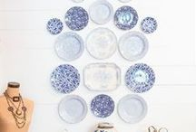 Be.Blue & White / Living (and loving) blue and white.
