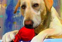 Dog Art / Dogs in Art / by Sue Kraus