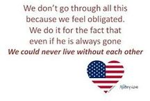Our love is Army Strong! / Images, thoughts, sayings for our troops and those who love them. (Yes, I am a proud Army Wife!! Hoooah!) / by Christy Williams