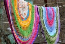 Sewing, Fabric, Crochet, Ribbon / by Ashley Riddle
