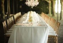 wedding inspiration / spaces and environments to entertain and remember