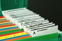 Paper ~ Organized / Mail, school work, office work, bills, insurance, magazines, newspapers, manuals, calenders, lists, ~ Paper! Paper! Paper! Get it organized! / by Kimberly Davis