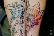 Ink / Ink, tattoos, body art.