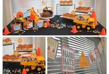 Construction birthday theme / Party planning construction  theme party
