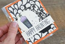Halloween & fall ~ Stampin' Up! Ideas / shop my website for paper crafting supplies www.stampindolce.com