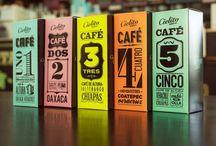 Coffee Pack Design / by Diana van der Meulen