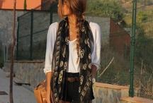 scarves, mufflers