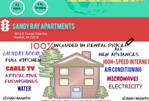 What you get with sandy bay apartments / When you visit Virginia, make it worthwhile by staying at sandy bay apartments. / by SandybayApartments Virginia