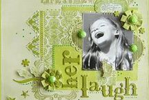 scrapbooking / ♥ scrapbooking ideas, layouts, pages, accessories, scraplift, scraplifting, colours, paper, buttons, flowers, die cuts, spreads, sketches ♥