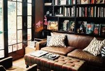 a library full of books. / by Amber Bixler