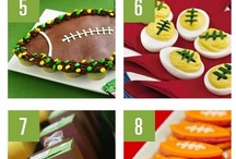 Super Bowl Treats and Eats / Super Bowl, Football Games, Hanging with friends...lots of yummy appetizers, dips and goodies.   / by Karen Wendel-Brodhead