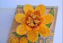 Flower Making Tutorials / Flower making tutorials: make paper,clay, fabric, felt ,fondant and unusual flowers such as flowers from sponge, thermocol  etc / by Dr Sonia S V