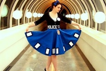 Costume: TARDIS Dress / Tutorials, references, and inspirations for making a TARDIS dress, or dressing up as Sexy/Idris from Doctor Who!