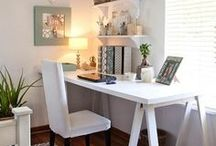 Home office / Create a stylish and productive home office environment with these great ideas!