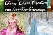Disney Costume Tutorials / I'm working to collect tutorials for all the Disney Princess dresses! Detailed tutorials for adult Disney costumes or cosplay are actually rather rare on Pinterest, so I'm doing my best to fix that. If you know of any great tutorials that deserve to be on here, feel free to comment on my blog - happilygrim.blogspot.com and let me know!  (If you're looking for Rapunzel I have a separate board for her, since I'm hoping to make her dress myself!)