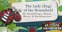 The Lady (Bug) of the Household / My Ramblings, Rants, Raves, & Randomness. The pins on this board are links to selected posts from my personal blog! www.Iadybughousehold.blogspot.com/