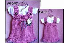 Girl's Knit Dresses