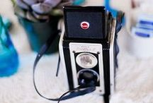 Cameras as props / Collection of cameras available to hire as props from Itsy Bitsy Vintage.