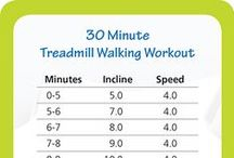 Treadmill Workouts / workouts, walking, running, HIIT for treadmills