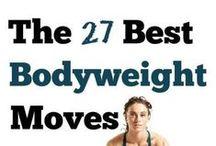 Body Weight Exercises / body weight exercises, no equipment needed exercises