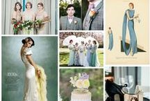 Decades of Vintage, party styling inspired by a different age. / Wedding inspiration through the ages.