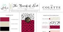 Template Brand Designs For Creatives / Stylish + time saving options for creative freelance graphic designers and home-based lady bosses. Perfect for event planners and those in need of a feminine brand package or design elements for bloggers.
