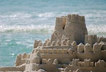 { castles made of sand } / ... fall in the sea, eventually...