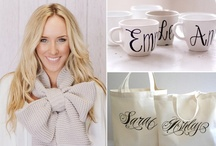 Bridesmaid's gifts / by HoneyBee Events